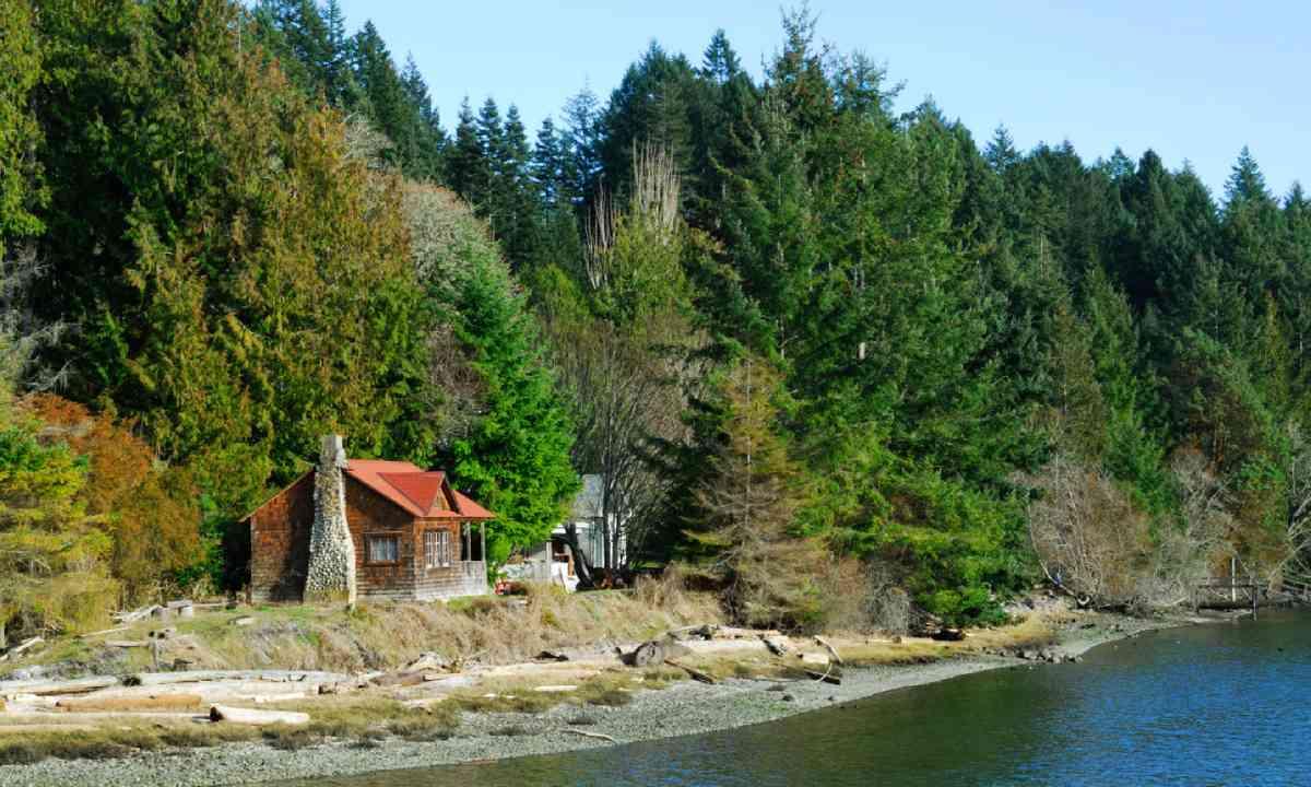 Seaside House on Pender Island (Shutterstock)