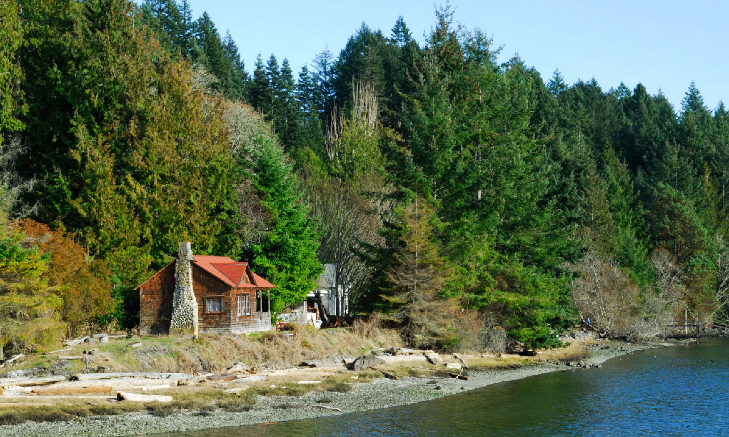 Seaside House on Pender Island (Shutterstock)
