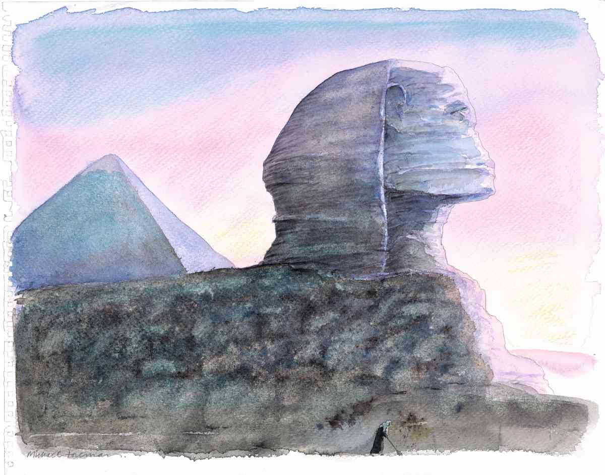 The Sphinx (Micael Foreman)