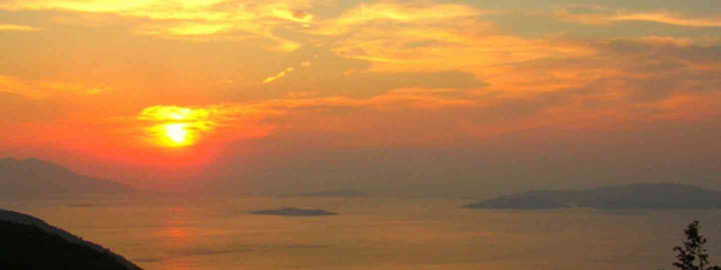 Greek islands at sunset (F Mira)
