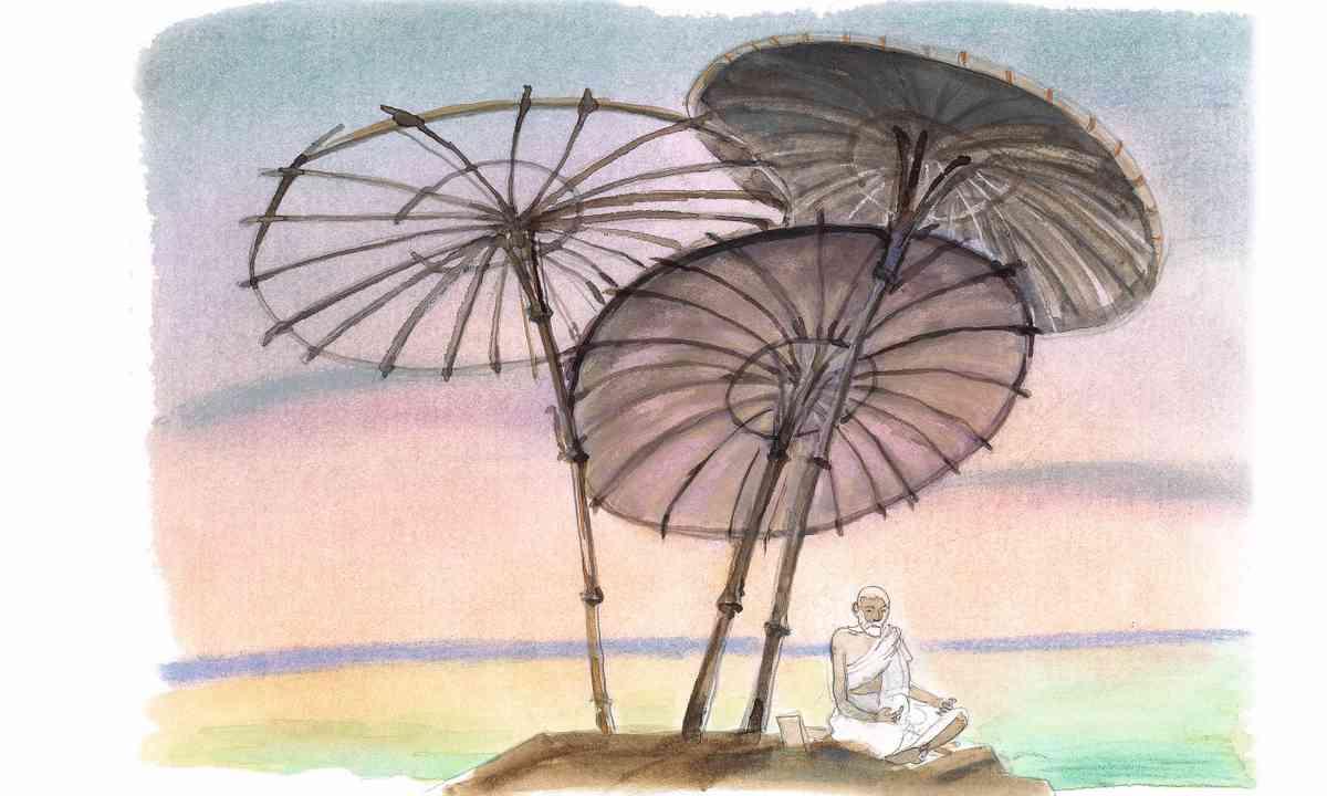 Indian Umbrellas (Michael Foreman)