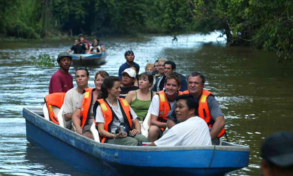 Kinabatangan River safari (Dreamstime)