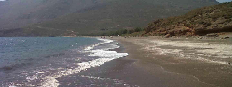 Tales from the Kantina, Eristos Beach, Tilos, Greece (Jennifer Barclay)