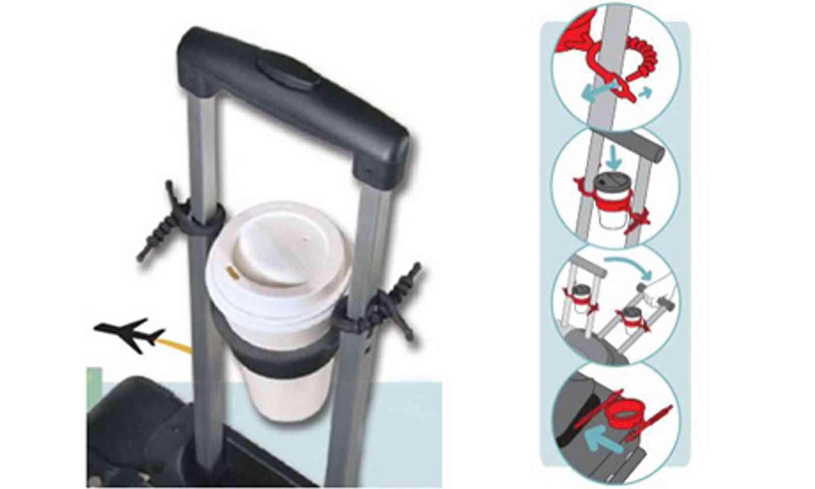 Tugo Luggage Cup Holder