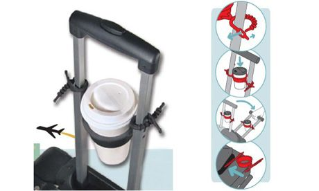 Tugo Luggage Cup Holder