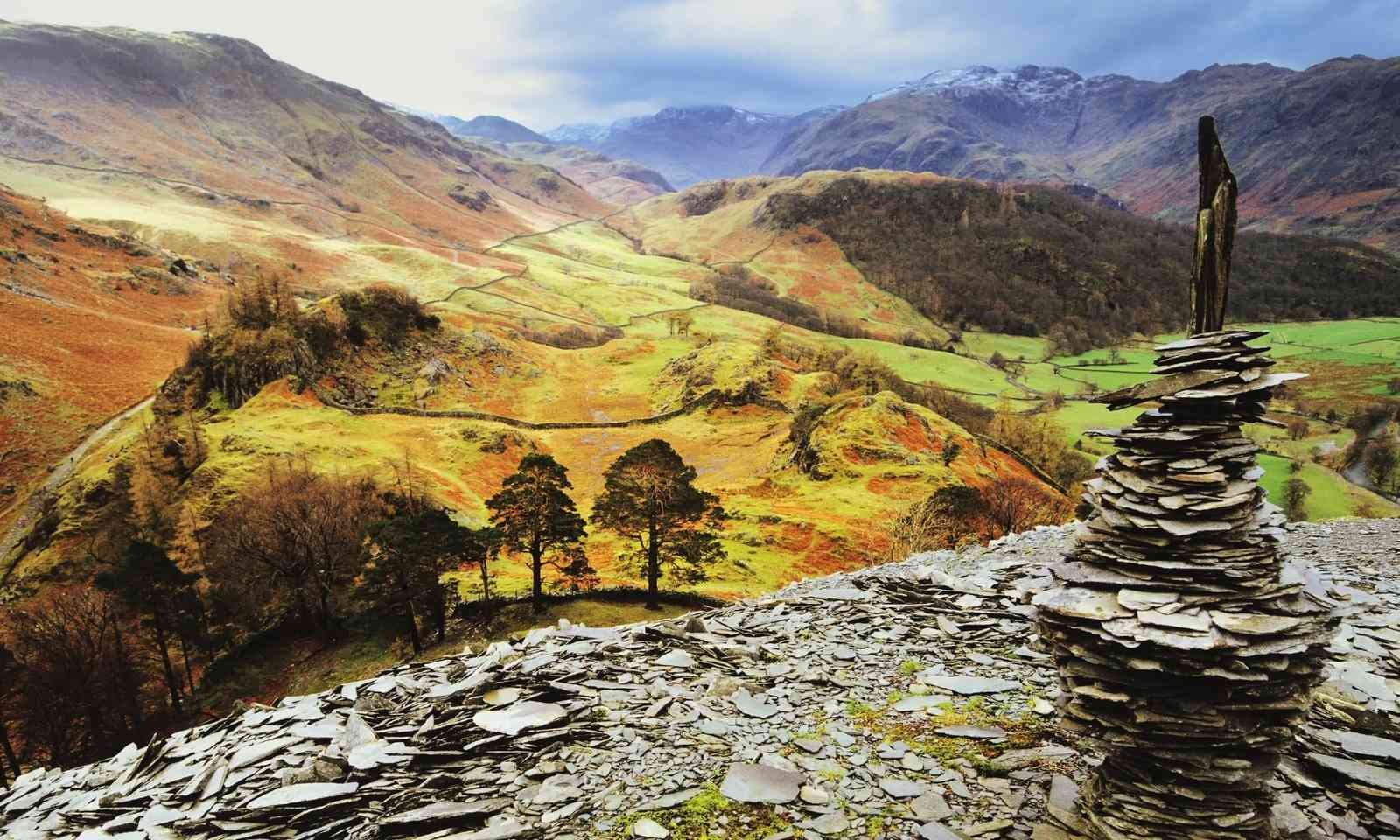 Borrowdale from Castle Crag (Dreamstime)