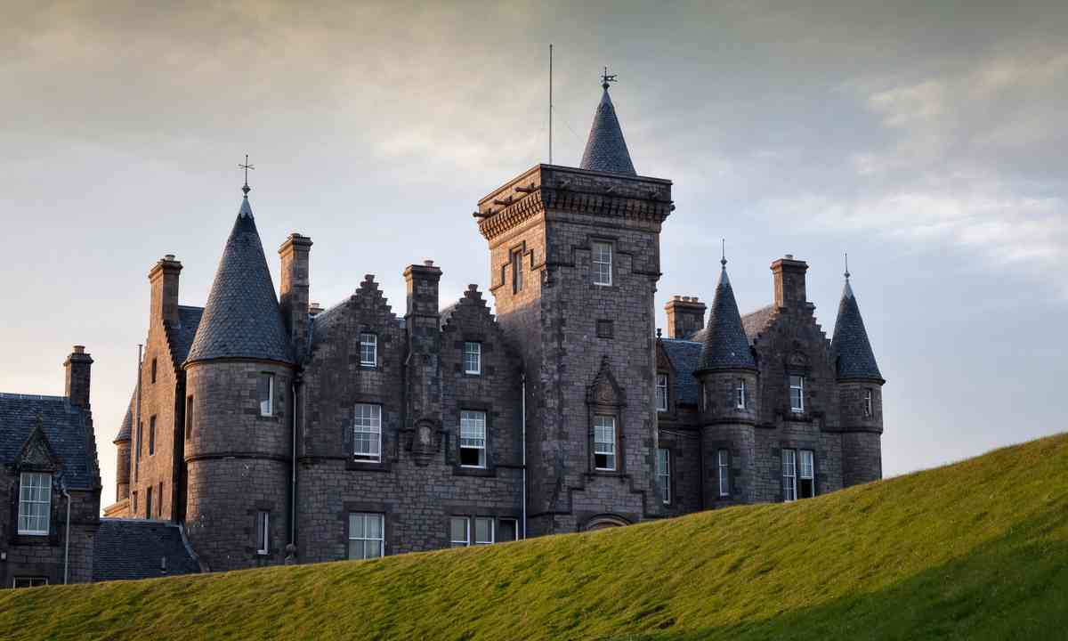 Glengorm Castle, Isle of Mull (Dreamstime)