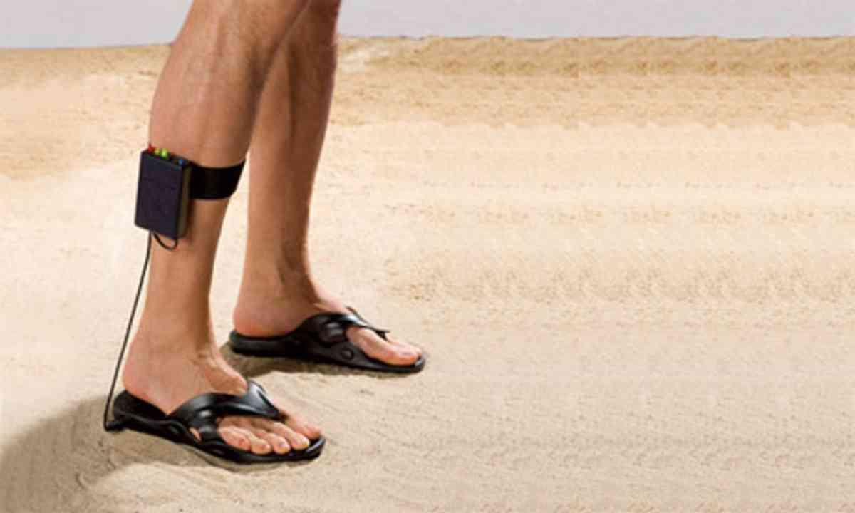 Metal Detector Sandals