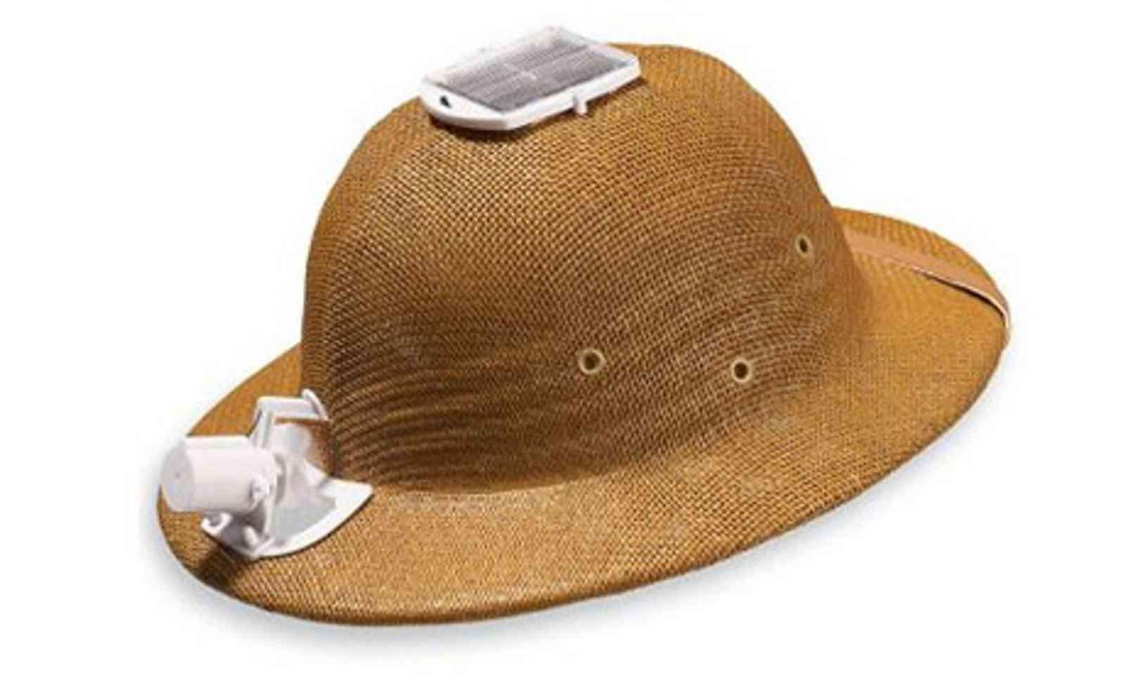 Sun-Mate solar hat