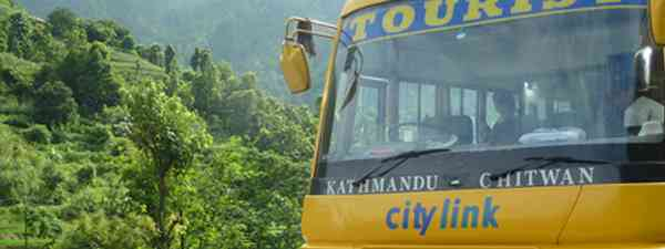 Nepalese Tourist Bus (Marie Javins)