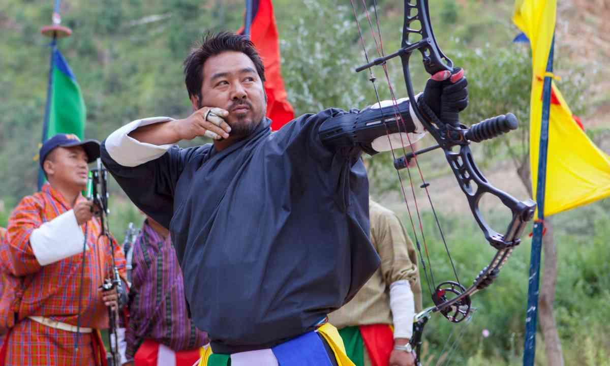 Archery in Bhutan (Dreamstime)