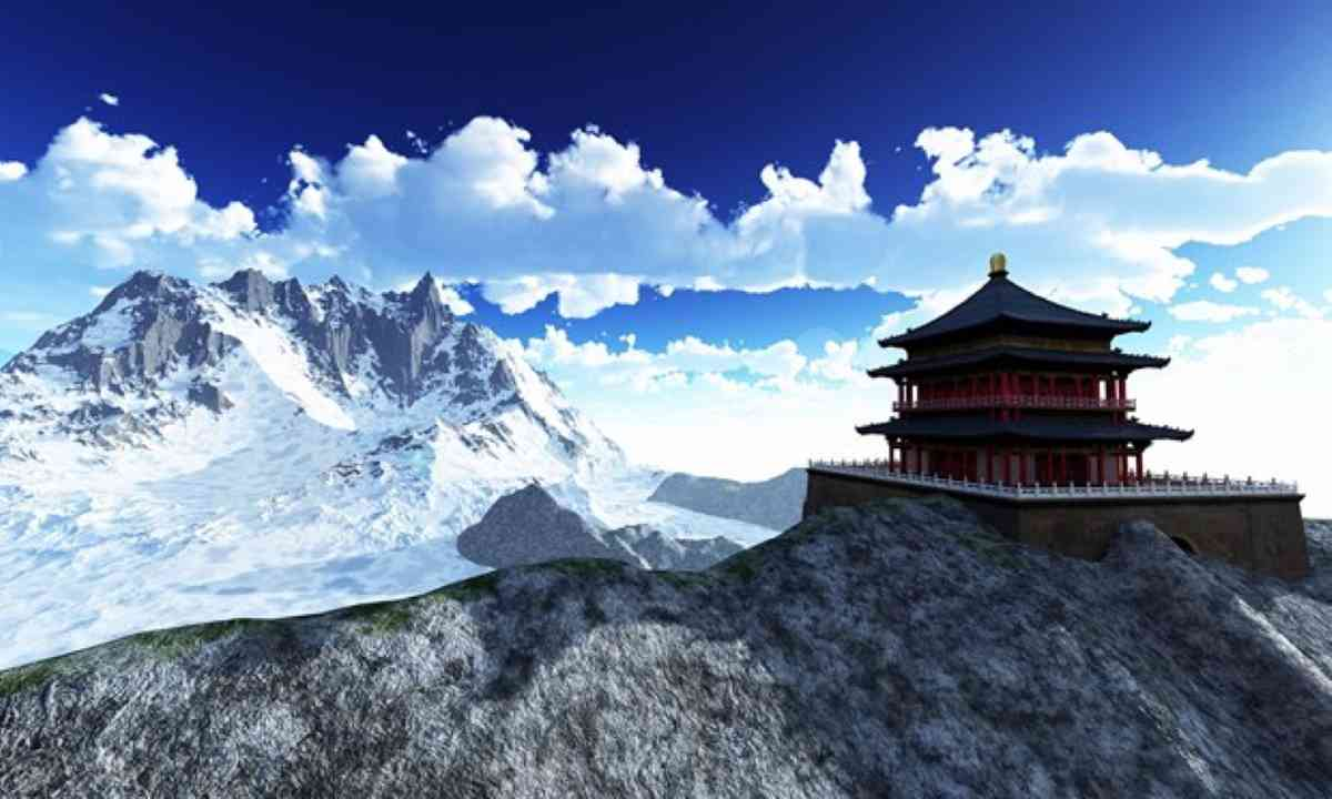 Temple in the Himalaya (Shutterstock)