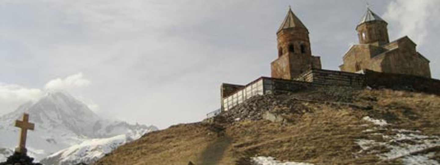 Mount Kazbek was the playground of a dragon-slaying demigod called Amirani (rogoyski)