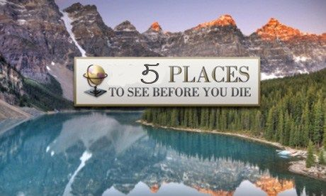 S places you must see before you die