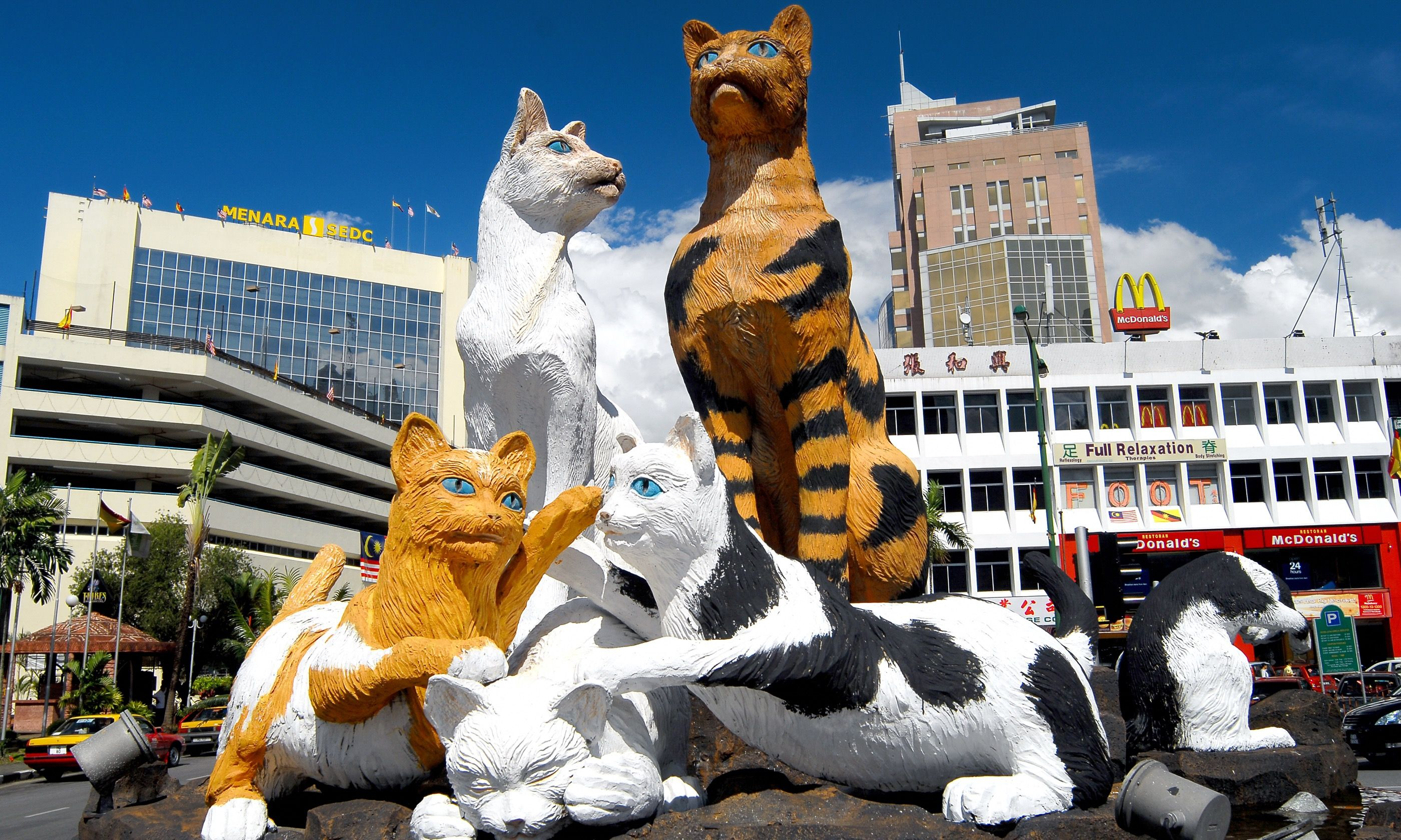Cat Statue, central Kuching (Dreamstime)