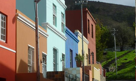 Colourful houses, Cape Town