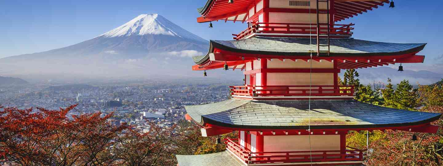 Mount Fuji in autumn (Dreamstime)