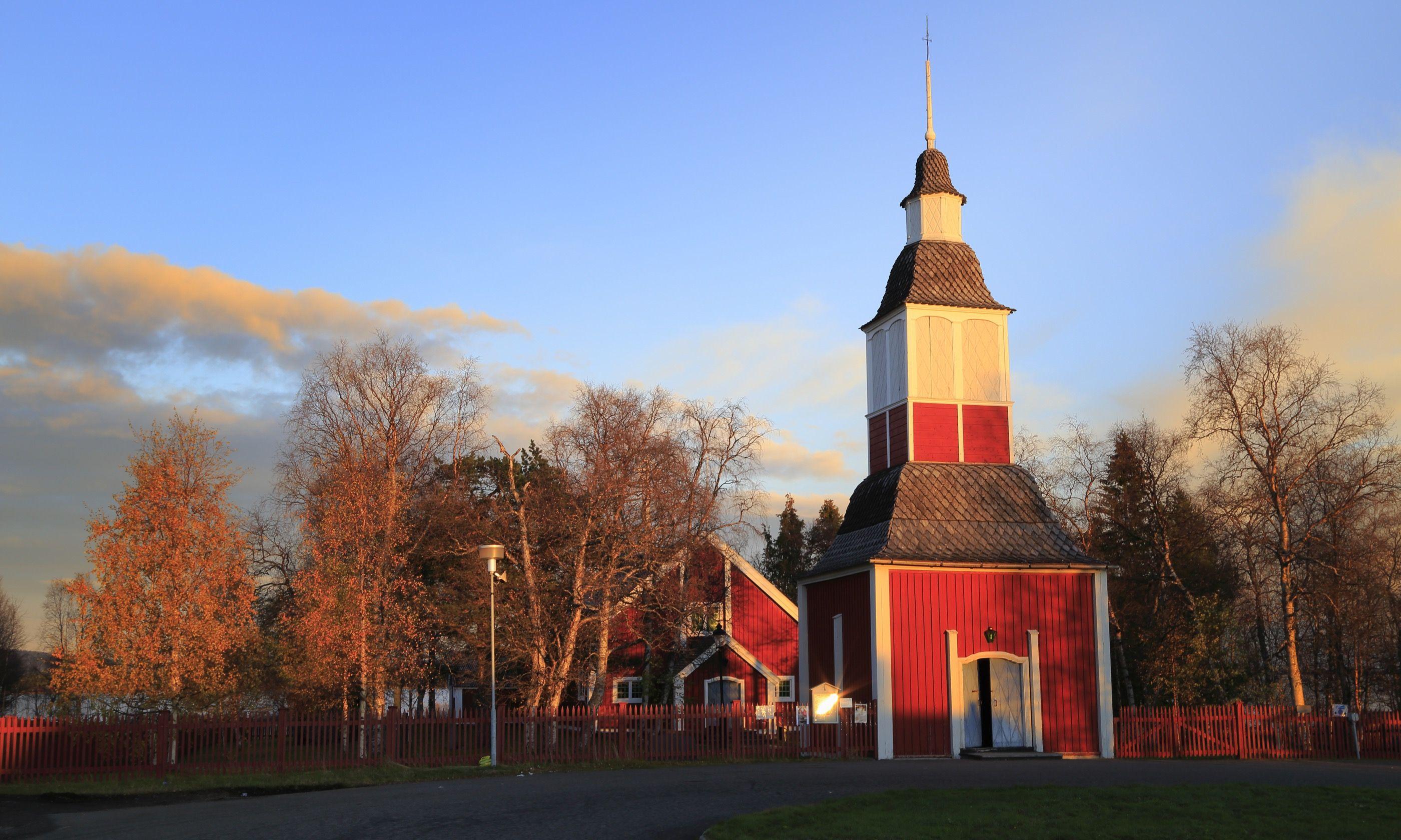 Jukkasjärvi Kyrk (Dreamstime)