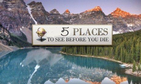 5 places