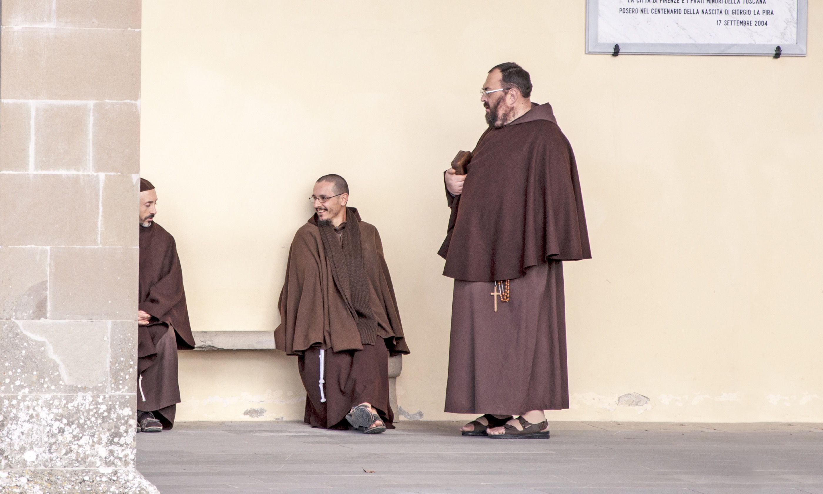 Franciscan friars in Italy (Dreamstime)