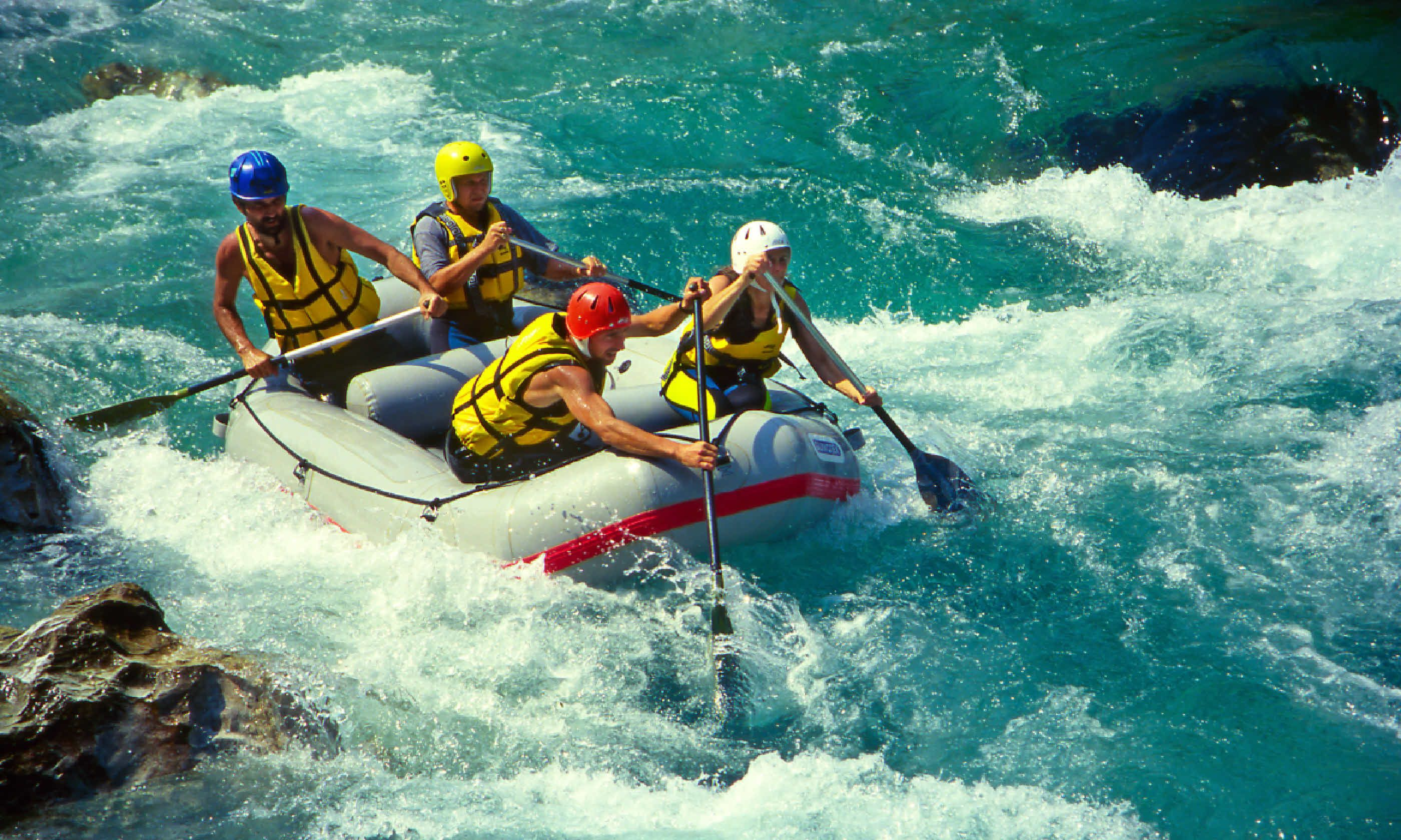 White water rafting on the Zambezi River | Wanderlust