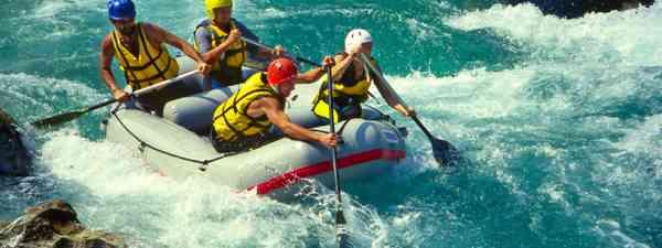 White water rafting (Shutterstock: see credit below)