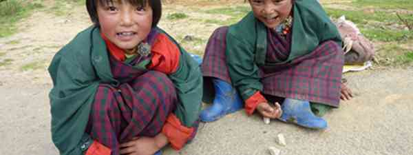 Bhutanese children (Marie Javin)