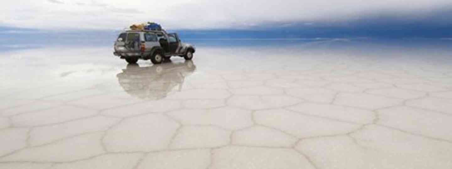 Visit Bolivia's salt flats in the wet season to see mirror-like views (Dreamstime)
