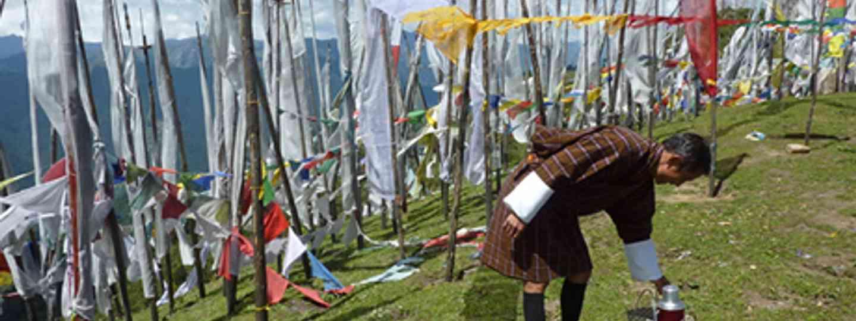 Bhutan picnic (Marie Javins)