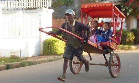Madagascar rickshaw