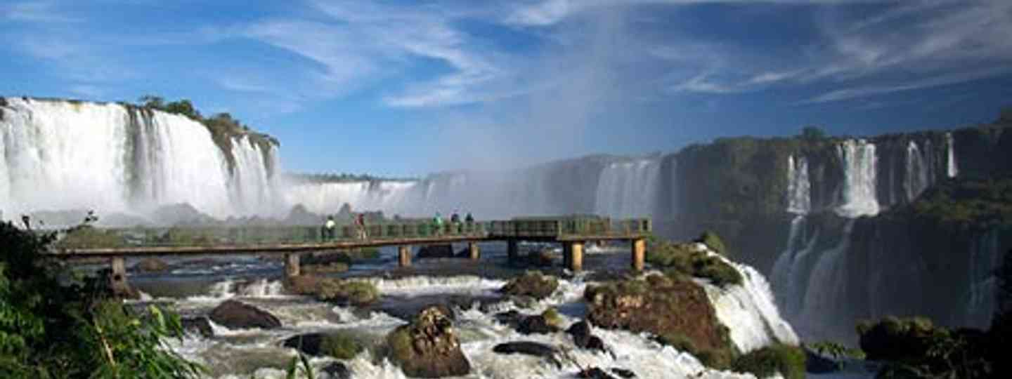 Iguazu falls, from the Brazilian side (Mark Goble)