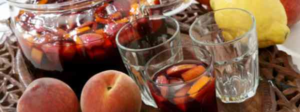 Sangria's not just for summer... (Dreamstime)
