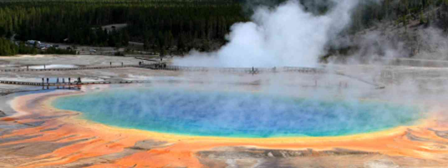 Grand Prismatic Spring, Yellowstone National Park (Alaskan Dude)