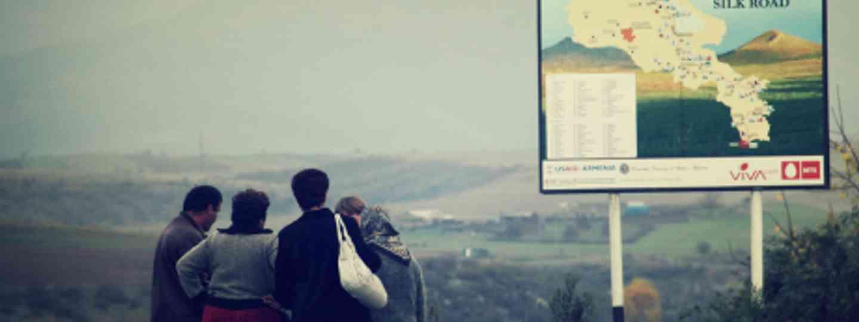 Silk Road Sign, Armenia (Harebeat)