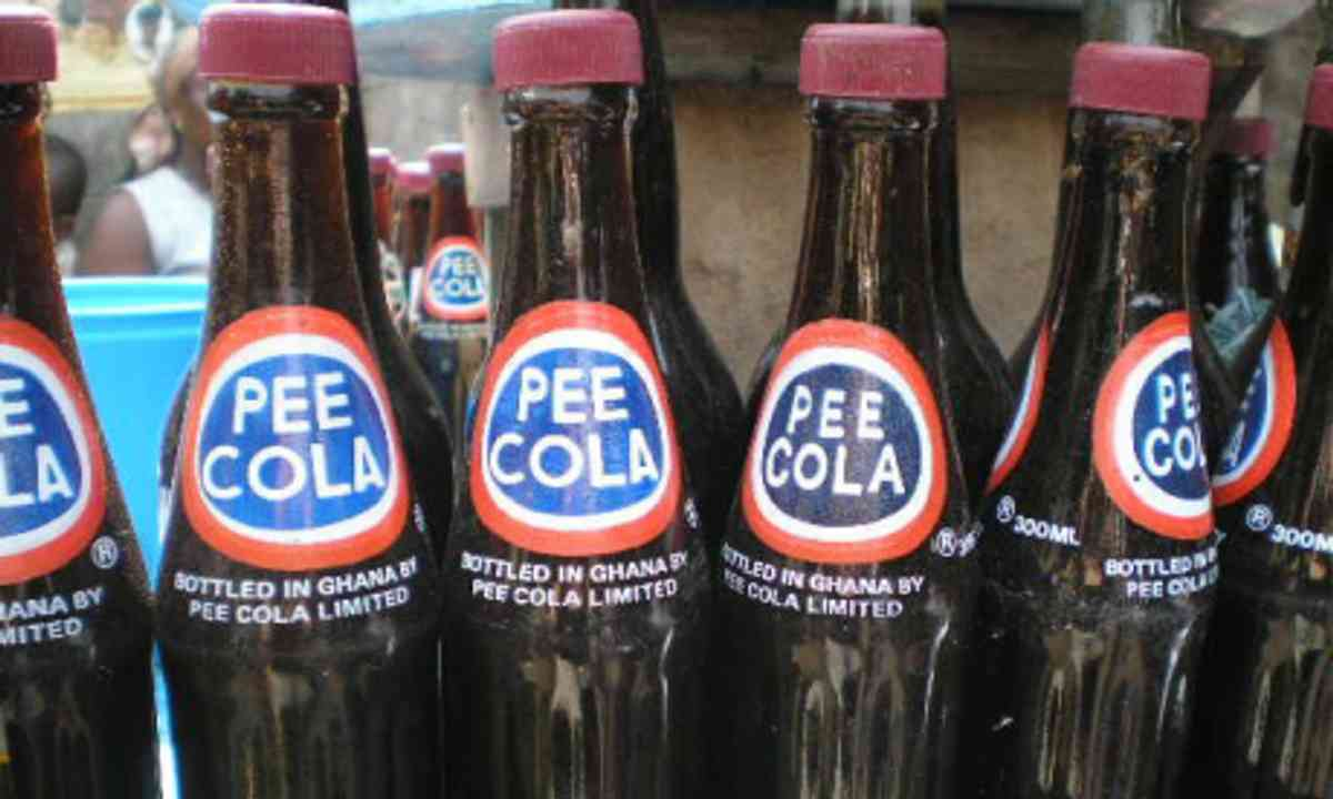 Pee Cola from Ghana