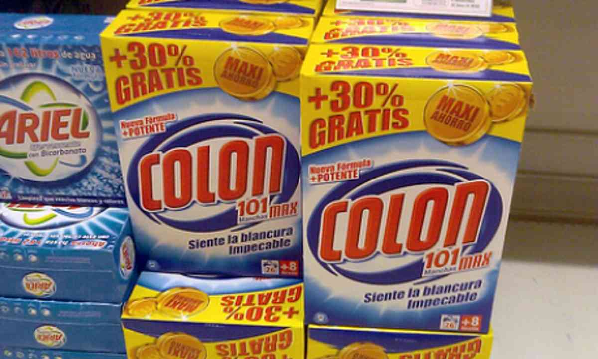 Colon Washing Powder, Spain