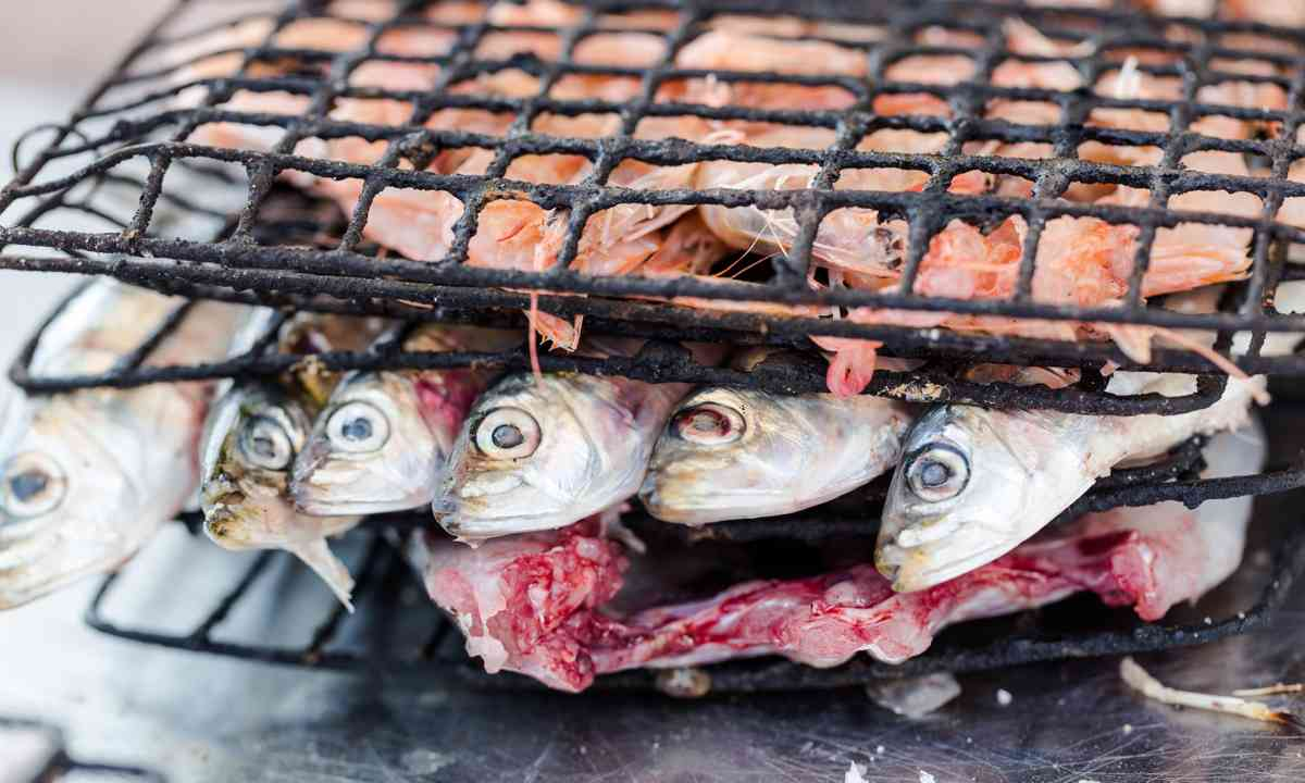 Sardines, ready to be grilled (Dreamstime)