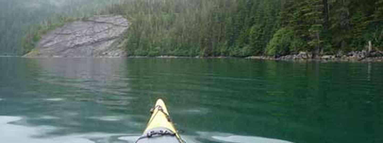Kayaking Alaska (Threat to Democracy)