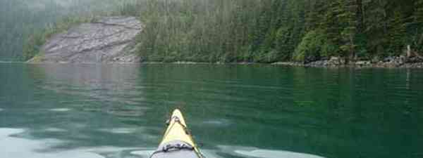 Kayaking Alaska (Threat to Democracy)