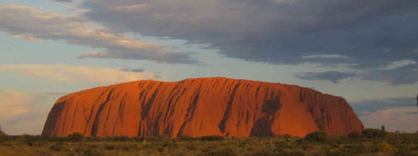Uluru at sunset (Rachael Taft)