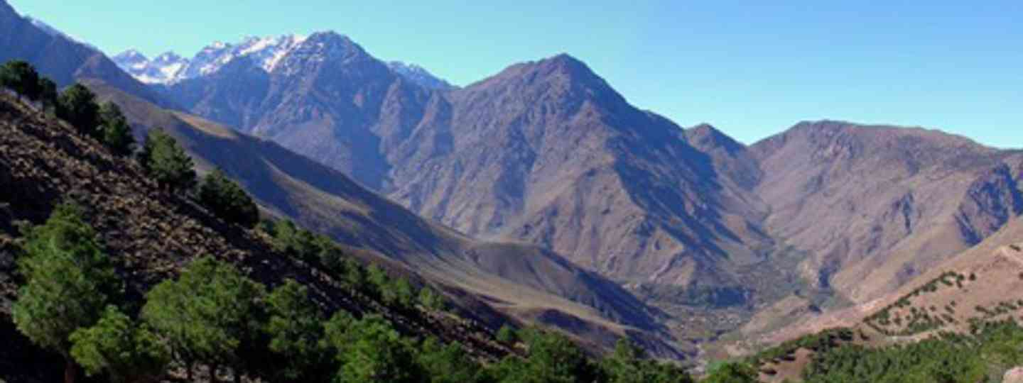 The High Atlas moutains, Morocco (simonsimages)