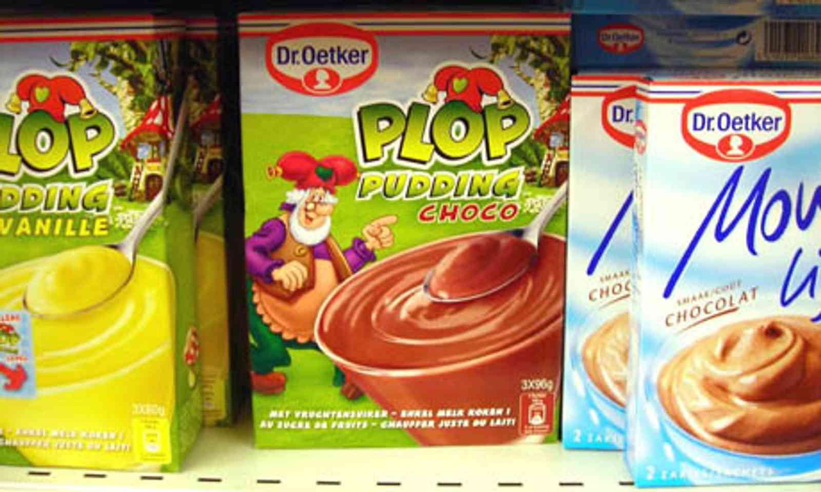Plop Choco Pudding