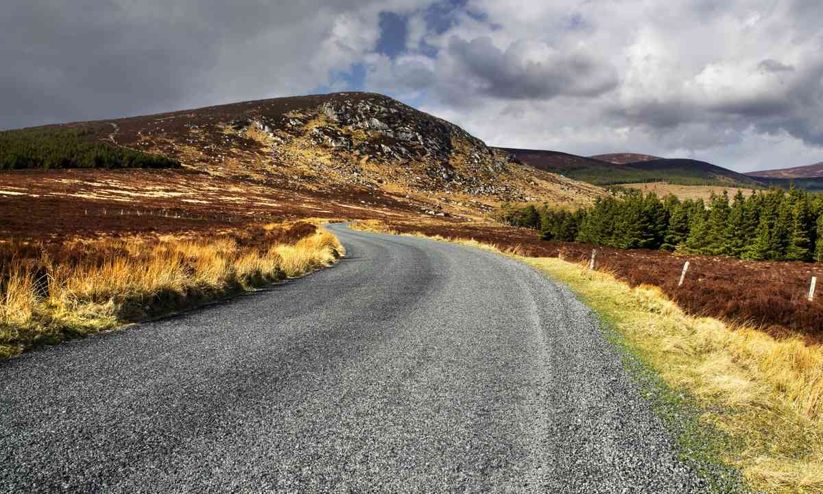 The road to Sally's Gap (Dreamstime)