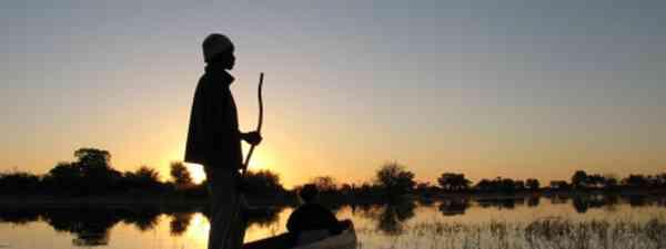 Crusing down the Okavango Delta, Botswana (Greenwich Photography)