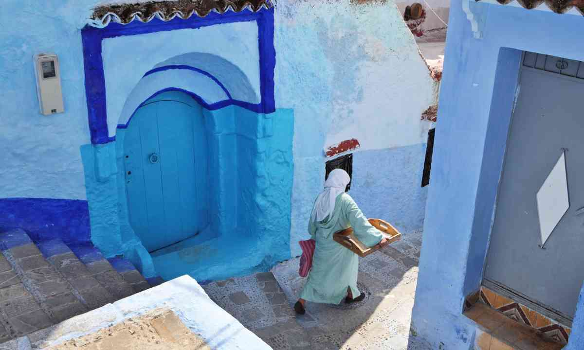 The blue medina of Chefchaouen (Dreamstime)