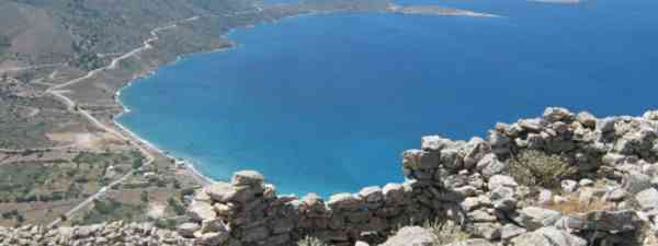 The Greek island of Tilos is never boring for Jennifer Barclay