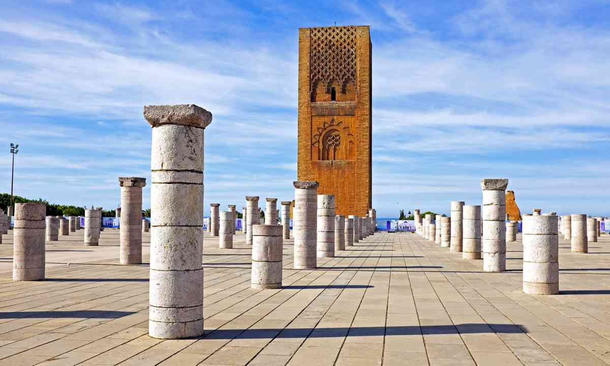 Hassan Tower Rabat (Dreamstime)