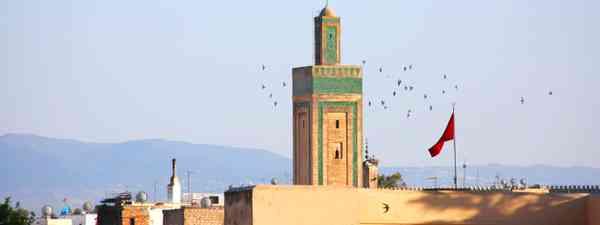 Mosque in Fez (Graeme Green)