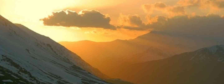 Kurdistan sunset (Charlie Walker)