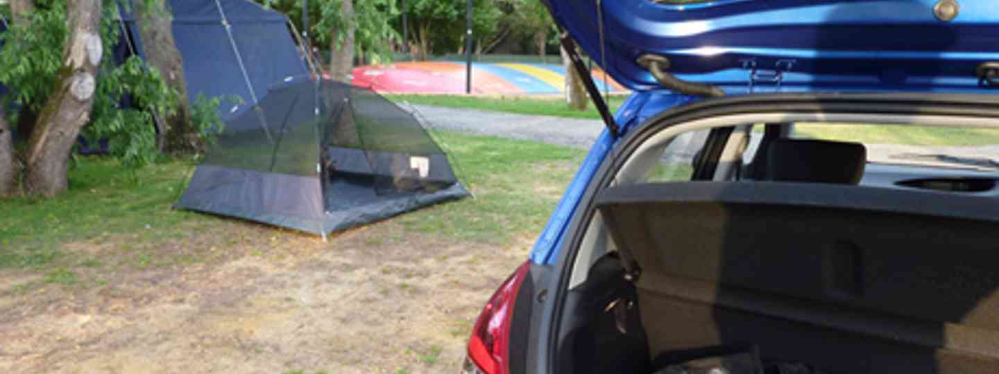 Car and tent, Western Australia (Marie Javins)